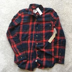 Vans Flannel (red & blue plaid)